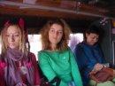 Maya & d on bus